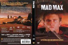 MAD MAX. dvd. LOTE PELICULAS 1, 2 Y 3
