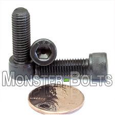 """1/4-28 x 3/4"""" – Qty 10 – SOCKET HEAD Cap Screws - Class 12.9 Black Alloy Steel"""
