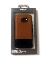 JACK SPADE Samsung Galaxy S7 Color-Block Case  Tan / Navy