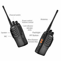 UK 2 x Baofeng 888s 2way radio 5W 16Ch+Soft Case+High Power Battery+Programming