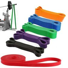 Rubber Resistance Band Fitness Workout Elastic Training Bands For Gym Pilate US