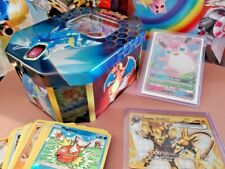 Pokemon Hidden Fates Gyarados Tin (50-Card Deck) GTD 3 GX, 5 rare, 1 ultra rare!
