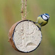 20 X COCONUT HALVES FAT FEEDER QUALITY BIRD FEED ATTRACT WILDLIFE TO YOUR GARDEN