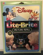 Lite Brite Mickey Mouse Picture Refill - NEW