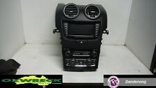 HOLDEN COMMODORE VE SERIES 2 HEAD UNIT BLACK