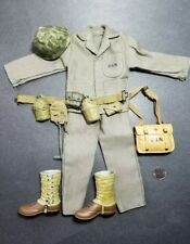 "1:6 Ultimate Soldier WWII US Navy Corpsman Medic Uniform Lot 12"" GI Joe BBI"