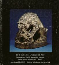 SOTHEBY'S CHINESE CERAMICS SNUFF BOTTLE JADE LIAO Auction Catalog 1977