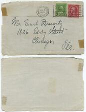 51199 - USA - Washington DC 8.7.1932 nach Chicago - Briefvorderseite