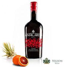 Amaro di Carciofino Selvatico dell'Etna e Arancia Rossa 50 cl By Nelson Sicily