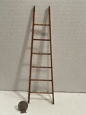 Vintage Artisan SIR THOMAS THUMB Wood Angled Ladder Dollhouse Miniature 1:12