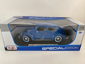 Maisto 2020 Exclusive Style Volkswagen Kafer- Beetle Special Edition New #31705