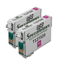 2pk Extra HY Magenta Ink Cartridge for Epson 127 Workforce WF-3540 WF-7010 T127