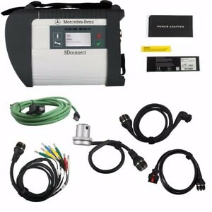 V2020.9 MB SD C4 Star Diagnosis + Software With Wifi For Mercedes Benz Car Truck