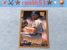 1995 Collector's Choice #210 David Cone Gold Signature Special Edition | Royals
