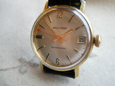 1969 VINTAGE WALTHAM ,DATE, RARE SWISS  MANUAL, SERVICED, RUNNING SUPERB