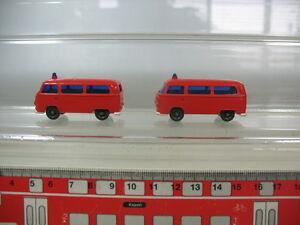 N324-0, 5 #2x H0 wiking Volkswagen VW Bully T2 Fire Fw