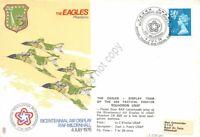 Gran Bretagna Great Britain 1976 - Bicentennial Air Display RAF Mildenhall