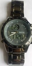 Kenneth Cole Reaction Mens Multi Bl Bracelets Chronograph Watch  LCD Display 24H