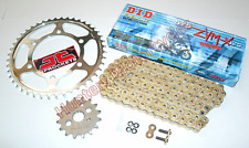 BMW S1000RR DID ZVMX Gold X-Ring Super Heavy Duty Chain & JT Sprockets Kit