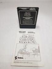 B.C.'s Quest for Tires II: Grog's Revenge & Manual Colecovision & Adam NEW E16