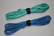 6ft Ultralight Whoopie Slings - Amsteel - Green/Blue - Hammock Suspension - USA