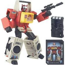 Transformers Titans return Leader Class Blaster Twincast + Rewind
