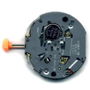 MIYOTA JS20 Quartz watch movement calibre replace repairs (new) - MZMIYJS20