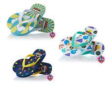 Slip - on Medium Width Rubber Sandals Shoes for Girls