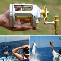 Big Game Trolling Reel Round Baitcasting Reel Boat Sea Bottom Fishing Reel