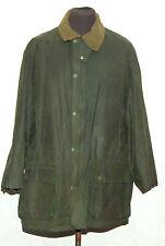 "VINTAGE JOHN PARTRIDGE WAX JACKET 46"" 112cm GREEN"