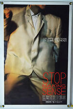 STOP MAKING SENSE ROLLED ORIG 1SH MOVIE POSTER DAVID BYRNE, TALKING HEADS (1984)