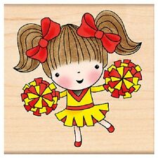 PENNY BLACK RUBBER STAMPS CHEERLEADING MIMI NEW STAMP 2013