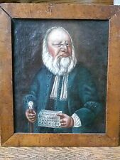 Fantastic original portrait painting c/a 1752 of Christian Jacobsen Drakenberg