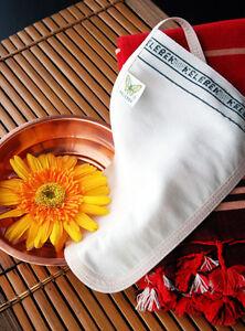 Turkish Bath Hammam Spa Exfoliator Peeling Gloves Kese Mitt for Sensitive Skins