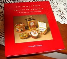 Halcyon Days Enamel Book  - The First 25 Years