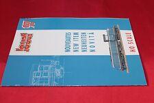 catalogo modellismo ferroviario JOUEF 1997 H0 SCALE
