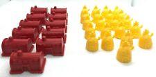 Game Parts Pieces Monopoly SpongeBob Edition 11 Krusty Krabs 21 Pineapple Huts