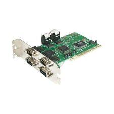 StarTech 4 Puertos PCI Rs232 Serial Tarjeta Adaptadora