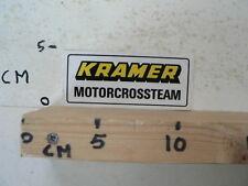 STICKER,DECAL KRAMER MOTORCROSSTEAM MX CROSS A