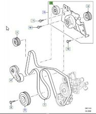 LAND ROVER GENUINE IDLER ASSEMBLY- Defender (A2) 2007 -PQH500120