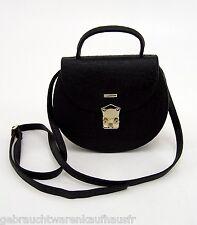 Design Abendtasche Handtasche Ledertasche Hand Tasche schwarz
