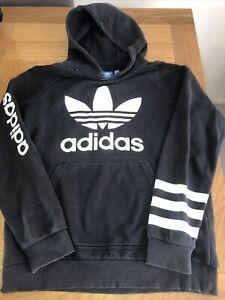 Adidas Black Hoodie 13-14 Yrs
