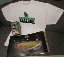 BaseBall Dayton DRAGONS Lot of 3NEW T-Shirt, BobbleHead & Record SellOuts Poster