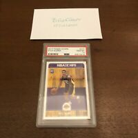 Kyle Kuzma 2017-18 Panini Hoops Rookie Card RC #277 (PSA 10) GEM MT