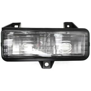 NEW LH TURN SIGNAL LAMP LENS AND HOUSING FITS CHEVROLET G30 1989-1996 GM2520129