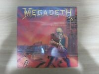 "MEGADETH PEACE SELLS BUT WHO""S BUYING Lyric Cover Korea Vinyl LP"