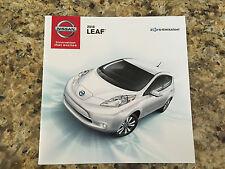 2016 Nissan LEAF 16-page Original Sales Brochure
