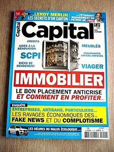 REVUE  CAPITAL  N° 354  -  MARS   2021  /  IMMOBILIER , LE BON PLACEMENT