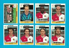 FEYENOORD - 16 STICKERS FOOTBALL PANINI VOETBAL 94 - 1994 - VERY RARE