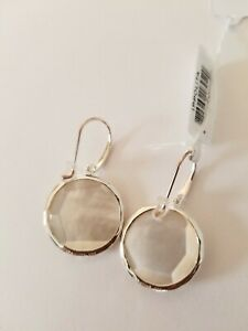 Ippolita Wonderland Sterling Silver Medium Stone Quartz Earrings